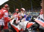 Andrea Dovizioso sulla griglia di partenza dell'ultimo GP in Olanda