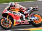 Barbera beffa le Honda sul bagnato, Yamaha in difficoltà