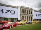 Anche al mitico Festival della velocità si festeggiano i 70 anni Ferrari