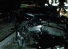 Auto precipita dal viadotto e viene travolta dal treno nel Comasco: 5 ragazzi salvi per miracolo