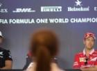 Vettel-Hamilton, il duello prosegue in conferenza stampa