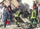 Torre Annunziata, crolla palazzina sulla Litoranea: 8 dispersi tra cui 2 bambini