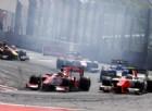 Contatto fratricida tra ferraristi: Leclerc buttato fuori