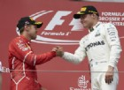 Tra i due litiganti il terzo gode: Bottas, un'altra Mercedes in corsa per il titolo