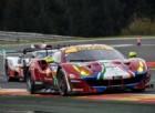 Rigon guida un gruppo di quattro Ferrari alla 6 Ore del Nürburgring
