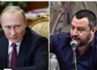 Salvini e Putin stringono un patto storico: nasce l'alleanza tra Lega Nord e Russia Unita