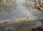Incendi: riapre l'Aurelia a Genova, Canadair ancora in azione