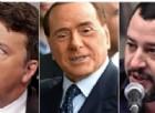Berlusconi chiude con Renzi e sceglie Salvini: «Nessuna possibilità di collaborare col Pd»