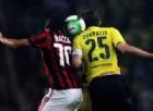 Troppo Aubameyang per questo Milan: è 3-1 per il Dortmund