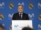 "Florentino Perez incorona il Milan: ""I nostri eterni rivali tornano grandi"""