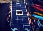La barca solare (anche torinese) che viaggia grazie all'energia del sole