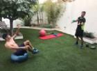 Jorge Martin durante l'allenamento a Valencia