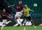 Bacca e Borini in azione contro il Dortmund
