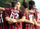 La gioia dopo un gol del Milan