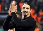 L'attaccante svedese Zlatan Ibrahimovic