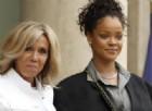 Rihanna incontra Brigitte Macron all'Eliseo