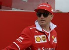 Kimi Raikkonen nel paddock dell'Hungaroring