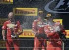 Ferrari, un trionfo di squadra: il grintoso Vettel e il «vichingo» Raikkonen