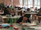 Studenti nella biblioteca di Città Studi