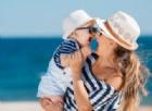 Bambini nervosi al mare? Colpa dei genitori
