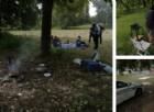 I controlli effettuati dalla polizia municipale nei parchi cittadini