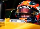 Robert Kubica nell'abitacolo della Renault