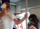 Il viaggio sul treno Torino-Ventimiglia, un incubo