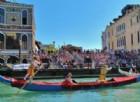 Venezia, la Regata Storica si vede dal Canal Grande