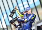 Valentino Rossi ci crede, poi cede: ma ritrova la sua Yamaha (e il podio)