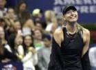 Fantastica Sharapova, demolita la Halep: «Sotto l'abito di Swarovski c'è di più»