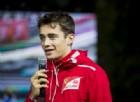 Leclerc: «Correre con la Ferrari? Sarebbe un sogno»