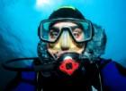 Sub risale troppo velocemente dopo l'immersione e si ritrova 30 kg in più