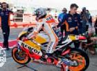 Petrucci porta in alto la Ducati, Marquez per terra