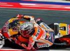 Marquez scatenato: cade e litiga con Iannone. E Vinales senza Rossi...