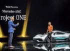 Hamilton lancia la prima F1 da strada: la Mercedes Project One