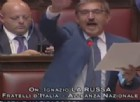 La Camera approva la legge Fiano sull'apologia di fascismo, show di La Russa