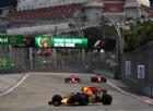 Red Bull e Ferrari già davanti, Mercedes indietro