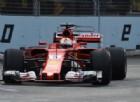 Riecco la Ferrari: Vettel in scia alla Red Bull