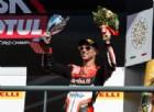 Gara-2 agrodolce per Ducati: Melandri a podio, Davies a terra