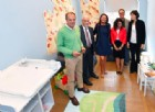 Chiara Appendino inaugura il Baby Pit Stop