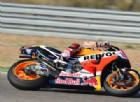 Marquez, vittoria e fuga. Valentino Rossi magico 5°