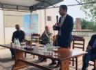Shaurli all'iniziativa 'Azienda aperta' che si è svolta alla Ricchieri di Fiume Veneto