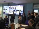 La control room della Questura