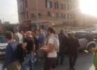 Migranti a Multedo, i cittadini bloccano il casello di Pegli