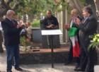 Noli inaugura la targa per commemorare Giuseppina Ghersi