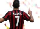 Tegola Milan: Kalinic ko e derby a rischio