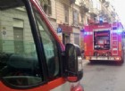 Pompieri in via San Massimo