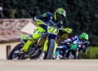 Valentino Rossi riprende ad allenarsi: «La gamba fa ancora male»