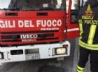 Santhià: si ribalta autocisterna carica di carburante