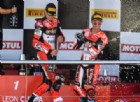 Doppio podio Ducati: Melandri batte Davies